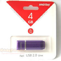 USB-flash Smartbuy 4GB Quart Series purple USB 2.0